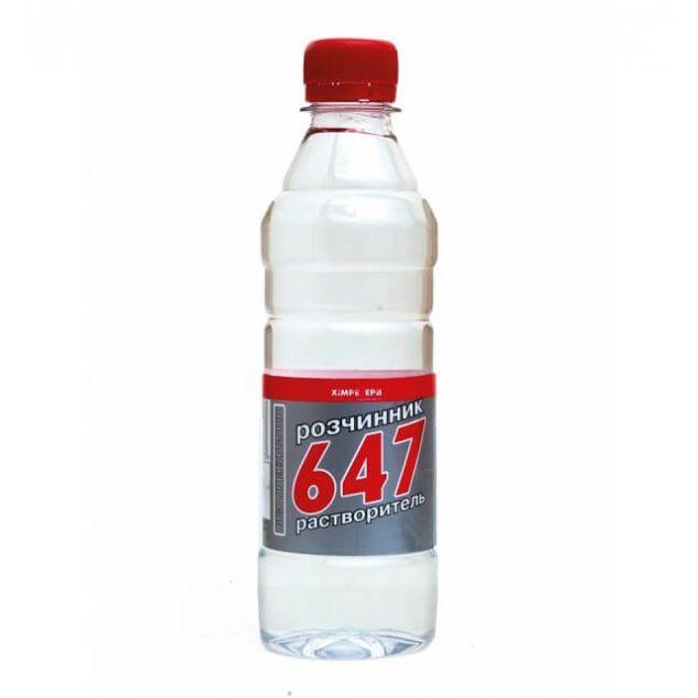 Растворитель 647 без прекурсоров ХИМРЕЗЕРВ 0,5л - 1