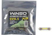 LED лампа Winso C5W 12V SMD5050 SV8.5 T11x36 127460 - 1