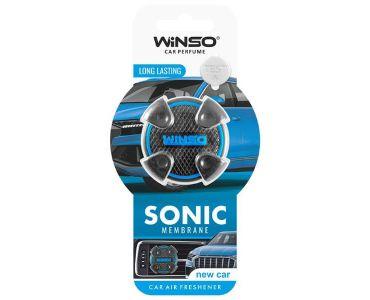 Ароматизатор в машину - Ароматизатор Winso Sonic на дефлектор New Car 531130