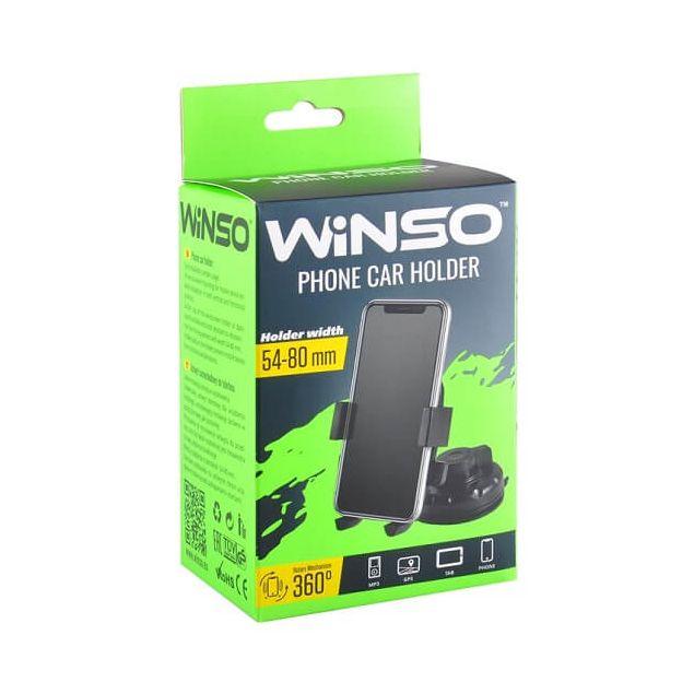 Держатель телефона Winso с поворотом на 360 градусов 54-80 мм (201170) - 1