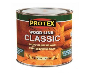 ЛАКИ И деревозащитные пропитки в Днепре - Просочувач для дерев*яних фасадiв WOOD LINE CLASSIK горiх (0,7л)