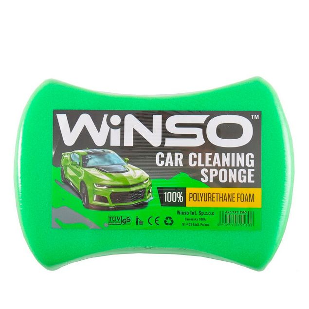 Губка для мытья машины Winso 200х140х60mm 151300 - 1