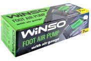 Насос автомобильный ножной WINSO с манометром (120220) - 2