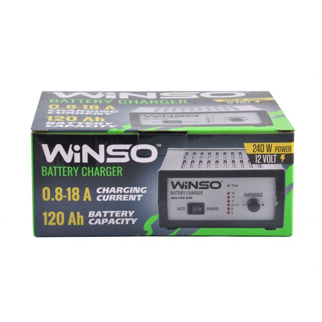 Зарядное устройство для АКБ WINSO 139200 - 2