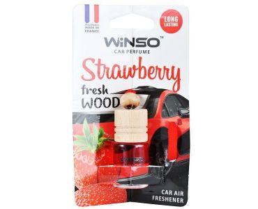 - Ароматизатор Winso Fresh WOOD Strawberry 530350 -