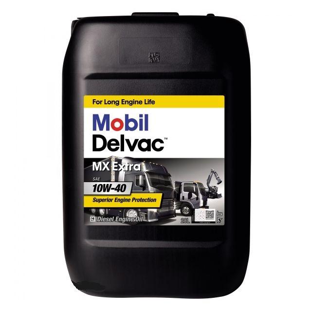 Масло MOBIL DELVAC MX EXTRA 10W40 20 л - 1