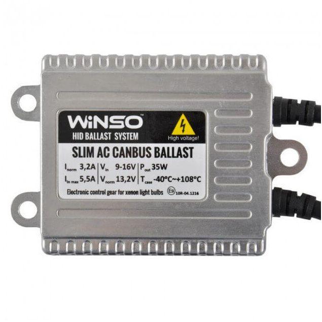 Блок розжига WINSO Slim AC CANBUS Ballast, 12V, 35W, KET 714200 - 2