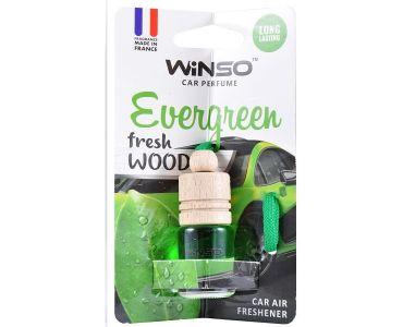 - Ароматизатор Winso Fresh WOOD Evergreen 530300 -