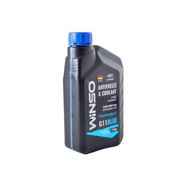 Антифриз Winso Blue G11 -40 1 кг Синий - 2