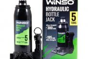 Домкрат гидравлический бутылочный WINSO 170500 5т 195-380мм - 1