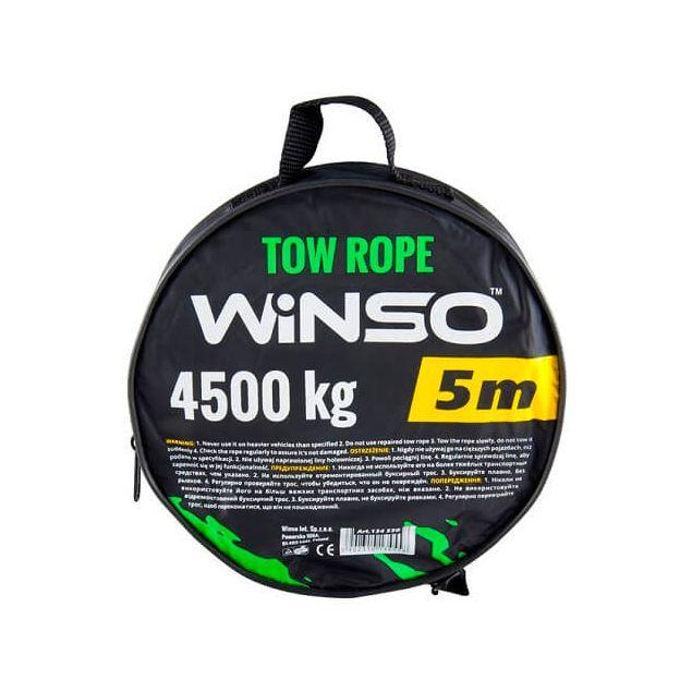 Трос буксировочный WINSO 4.5т 5м чехол 134550 - 2