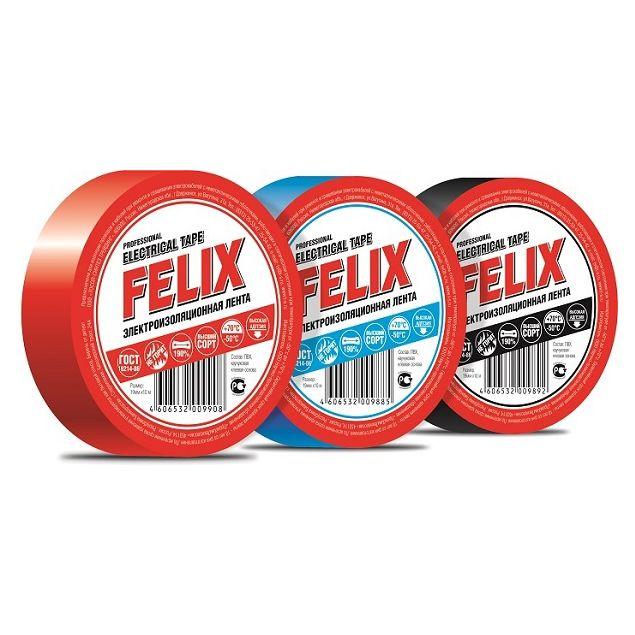Изолчционная лента Felix ПВХ красная - 2