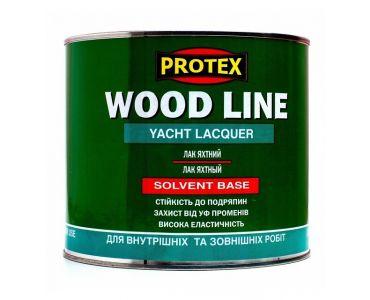 ЛАКИ И деревозащитные пропитки в Днепре - Лак полиуретановый паркетный PROTEX WOOD LINE глянцевый (0,7)