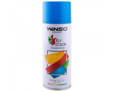 Краска для авто - Краска Winso Spray синяя TRAFFIC BLUE RAL5017 880310 450мл - КРАСКА ДЛЯ АВТО