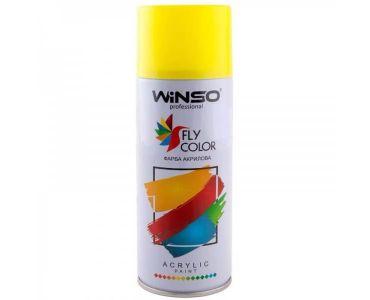 Краска для авто - Краска Winso Spray флуоресцентная кислотно-желтая 880460 450мл - КРАСКА ДЛЯ АВТО