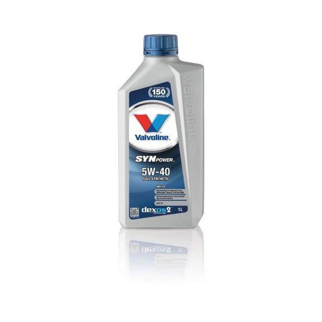 Масло моторное VALVOLINE SYNPOWER MST C3 5W-40 5л - 1