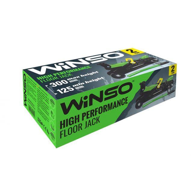 Домкрат подкатной WINSO 191200 2т 125-300мм - 2