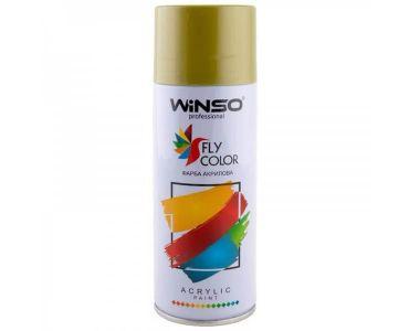 Краска для авто - Краска Winso Spray золотой хром BRIGHT GOLD 880210 450мл - КРАСКА ДЛЯ АВТО