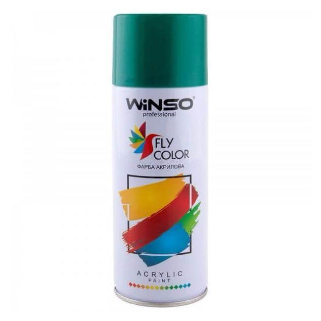 Фарба Winso Spray зелена OPAL GREEN RAL6026 880190 450мл - 1