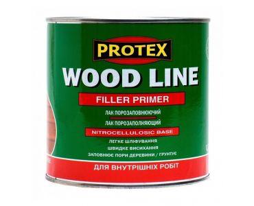 ЛАКИ И деревозащитные пропитки в Днепре - Лак порозаполняющий Protex для паркета и дерева PROTEX WOOD LINE (0,7)