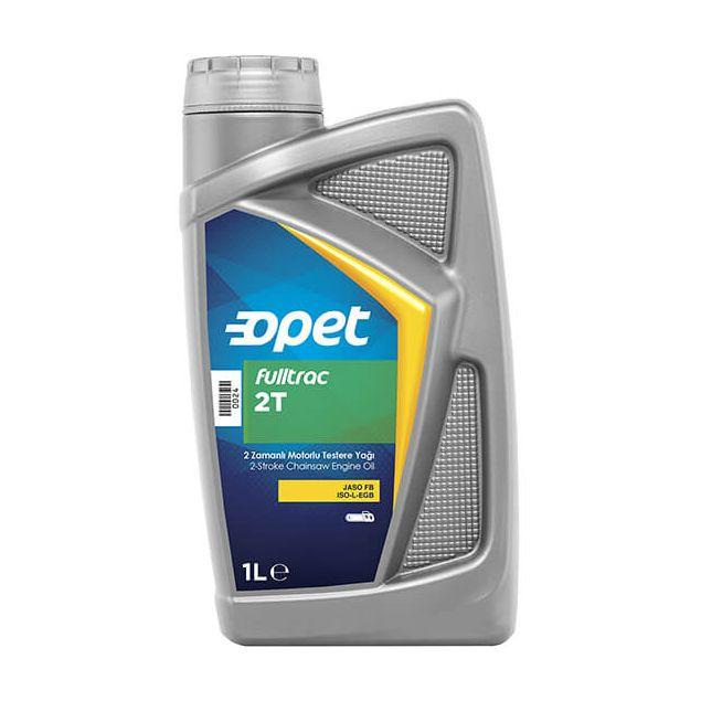 Масло для бензопил Opet FULLTRAC 2T 1л - 1