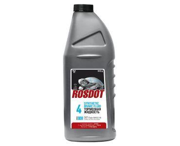 Автохимия в Днепре - Тормозная жидкость ROSDOT4 1л