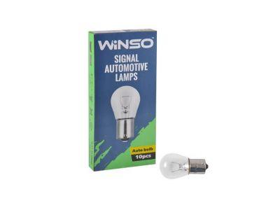 - Лампа розжарювання Winso P21W 12V 21W BA15s 713100 -