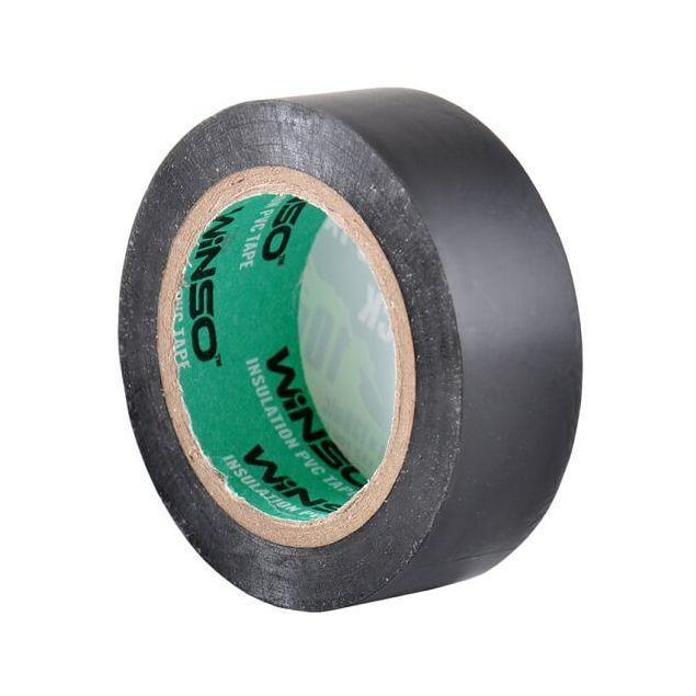 Изолента Winso ПВХ черная 10м / 19 мм - 3