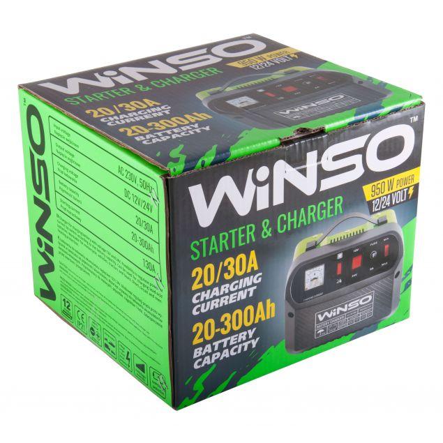 Описание Пуско-зарядное устройство для АКБ Winso 139600 - 3