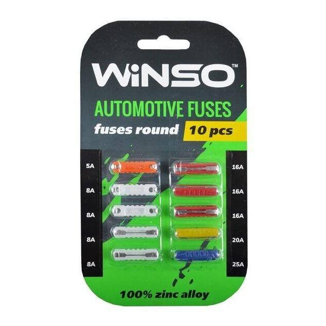Предохранители Winso цилиндрические 10 шт (155300) - 1