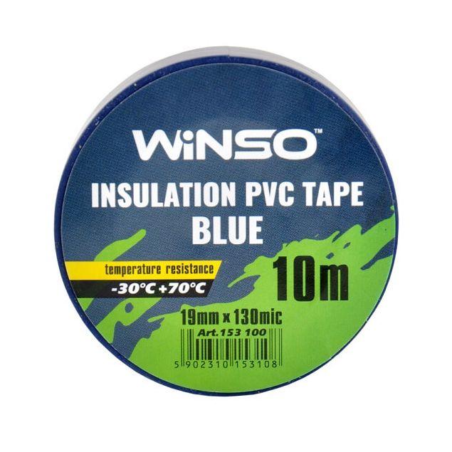 Изолента Winso ПВХ синяя 10 м (153100) - 2