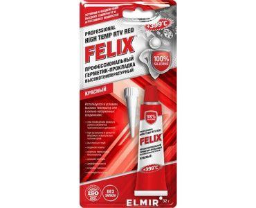 Герметики и клеи - Герметик- прокладка красный FELIX 32гр