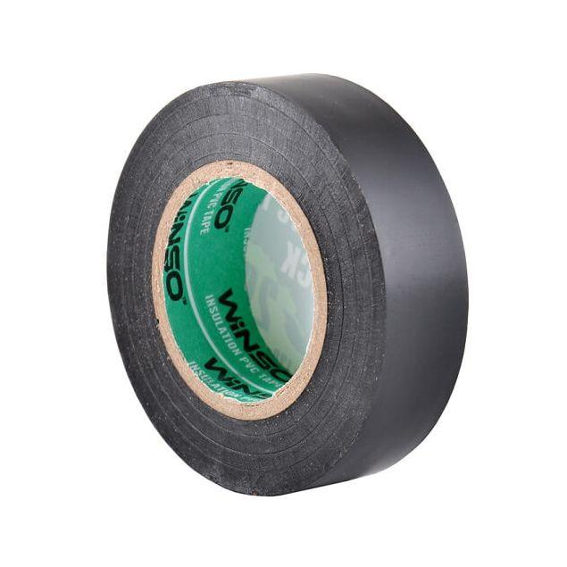 Изолента Winso ПВХ черная 20м / 19 мм - 3
