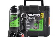 Домкрат бутылочный WINSO 182000 2т в кейсе 148-276 мм - 1