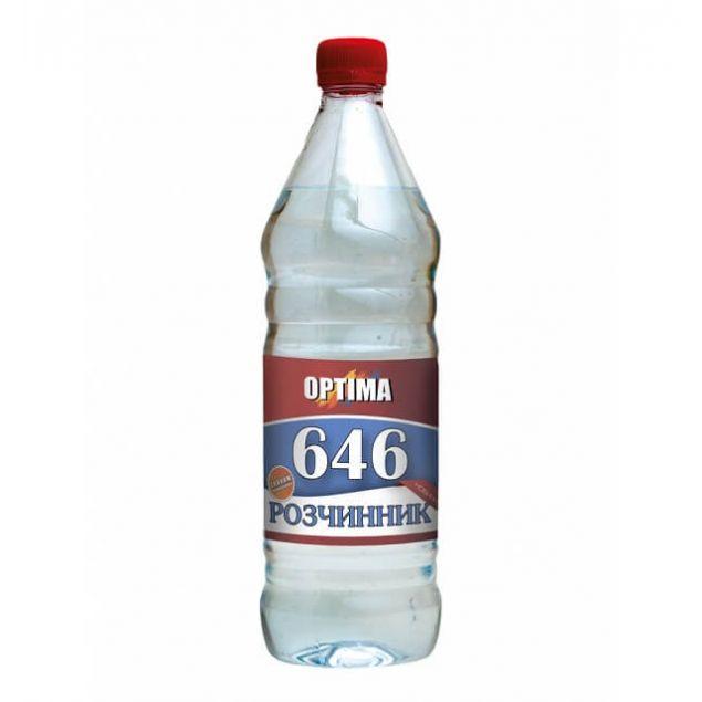 Растворитель 646 без прекурсоров ОPТІМА 0,8л - 1