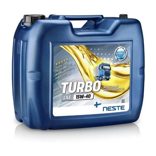 Масло моторное Neste Turbo LXE 15W40 18кг - 1