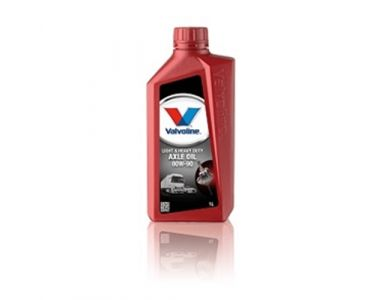 Трансмісійне масло - Масло трансмісійне VALVOLINE HD AXLE OIL 80W-90 1л -
