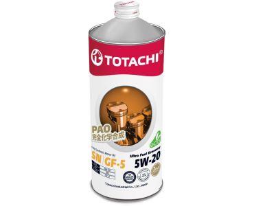 Автомасла - Масло моторное TOTACHI Ultra Fuel Economy 5W-20 1л. -