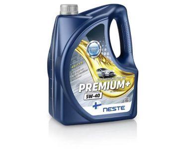 Масло моторное в Днепре - Масло моторное Neste Premium + 5W40 4л