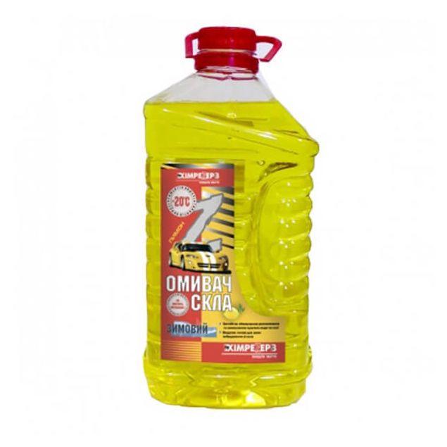 Омыватель стекла зимний -20 ХИМРЕЗЕРВ Лимон 4л - 1