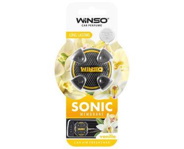 Ароматизатор в машину - Ароматизатор Winso Sonic на дефлектор Vanilla 531050