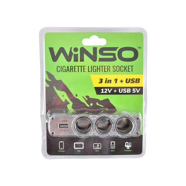 Разветвитель прикуривателя Winso 200130 - 2