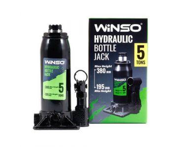 Домкраты автомобильные - Домкрат гидравлический бутылочный WINSO 170500 5т 195-380мм