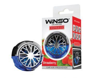 Ароматизатор в машину - Ароматизатор WINSO Merssus на дефлектор Strawberry 534550