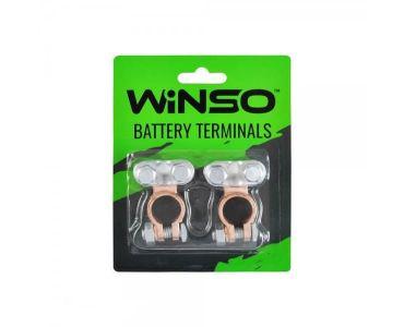 Клеми акумуляторні АКБ - Акумуляторні клеми Winso 146700 -