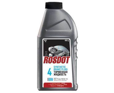 Тормозная жидкость в Днепре - Тормозная жидкость ROSDOT4 0,5л