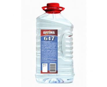 Растворитель для краски - Растворитель 647 без прекурсоров ОPТІМА 4л