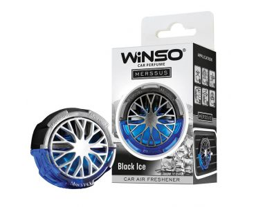 Ароматизатор в машину - Ароматизатор WINSO Merssus на дефлектор Black Ice 534410