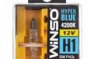 Галогенные лампы Winso HYPER BLUE H1 P14.5s 12V 4200K 55W 2 шт (712150) - 1
