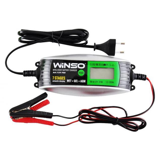Зарядное устройство интелектуальное для АКБ WINSO 4A 139700 - 1